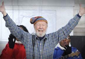 Pete Seeger | Photo courtesy of GRAMMY Museum