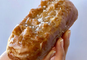 Primo's Donuts - Sea Salted Caramel Buttermilk Bar